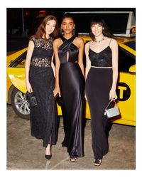 Adrianna Papell - Black Beaded Two-piece Gown - 100% Bloomingdale's Exclusive - Lyst