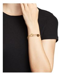Roberto Coin - Metallic 18k Yellow Gold Ipanema Amethyst & Mixed Quartz Double Row Bracelet - Lyst