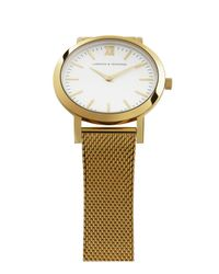 Larsson & Jennings | Metallic Liten Stainless Steel Watch | Lyst