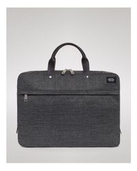 Jack Spade | Gray Tech Oxford Slim Briefcase for Men | Lyst