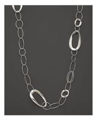"Ippolita | Metallic Sterling Silver Cherish Chain, 40"" | Lyst"