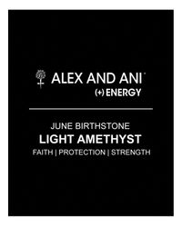 ALEX AND ANI Metallic June Birthstone Bangle