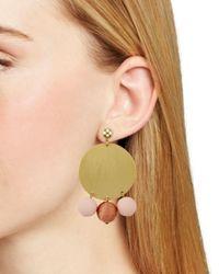 Rebecca Minkoff - Metallic Circle Bauble Earrings - Lyst