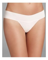 Hanky Panky | White Bare Eve Natural Rise Thong #6j1661 | Lyst