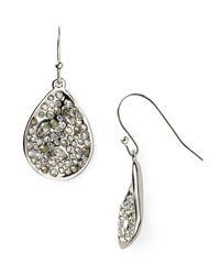 Alexis Bittar | Metallic Miss Havisham Crystal Encrusted Drop Earrings | Lyst
