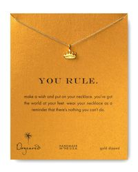 Dogeared | Metallic You Rule Necklace, 18"