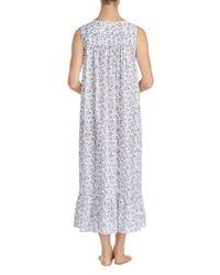 Eileen West - Blue Sleeveless Ballet Nightgown - Lyst