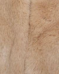 Reiss Natural Ethel Faux Fur Stole