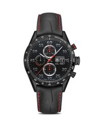 Tag Heuer Black Carrera Calibre 1887 Automatic Chronograph Watch for men