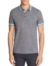 BOSS - Black Green Paddy Short Sleeve Polo Shirt for Men - Lyst