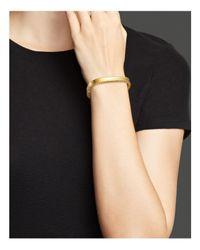 Roberto Coin - Metallic 18k Yellow Gold Princess Bangle - Lyst