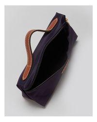 Longchamp | Blue Le Pliage Cosmetic Case | Lyst
