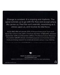 ALEX AND ANI Metallic Charity By Design Collection
