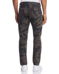 G-Star RAW Multicolor G - Star Raw 5620 3d Slim Fit Jeans In Asfalt Camo for men
