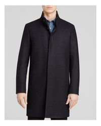 Theory   Blue Belvin Vp Voedar Coat for Men   Lyst
