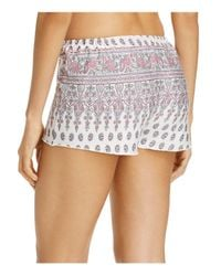 Pj Salvage - Natural Floral Paisley Shorts - Lyst