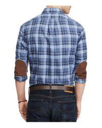 Polo Ralph Lauren - Blue Plaid Casual Button-down Cotton Shirt for Men - Lyst