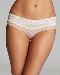 B.tempt'd Natural B.temptd By Wacoal Lace Kiss Hipster Briefs