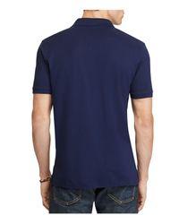 Polo Ralph Lauren - Blue Classic Fit Stretch Mercerized Polo Shirt for Men - Lyst