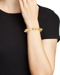 Bloomingdale's Metallic 14k Yellow Gold Chain Link Bracelet