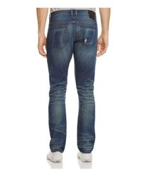 Blank NYC - Slim Fit Jeans In Chicks Dig Blue for Men - Lyst