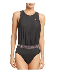 PUMA Black Explosive Leotard