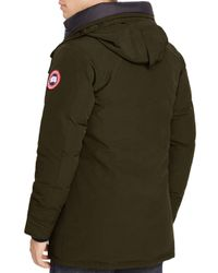 Canada Goose - Brown Langford Parka With Fur Hood for Men - Lyst