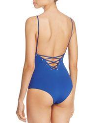 Tavik Blue Monahan One Piece Swimsuit