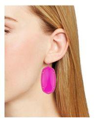 Kendra Scott - Pink Signature Danielle Drop Earrings - Lyst