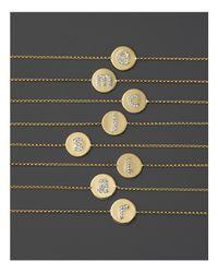 KC Designs | Metallic Diamond Pavé Initial Bracelet | Lyst
