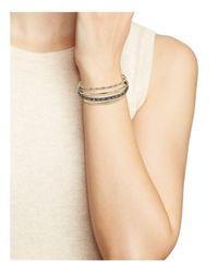 Alexis Bittar - Multicolor Orbit Cuff Bracelet - Lyst