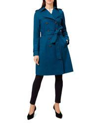 Hobbs Blue London Saskia Trench Coat