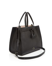 Kate Spade Multicolor Hayes Street Isobel Leather Satchel