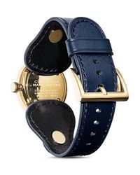 Marc Jacobs Blue The Cuff Watch