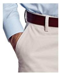 Thomas Pink Natural Voltaire Regular Fit Chino Pants for men