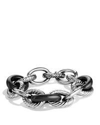 David Yurman Metallic Oval Extra Large Link Bracelet