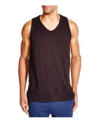 T By Alexander Wang - Black Pocket Tank for Men - Lyst