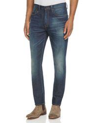 PRPS Blue Back-to-school Slim Fit Jeans In Indigo Wash for men