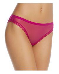 On Gossamer | Purple Next To Nothing Bikini | Lyst