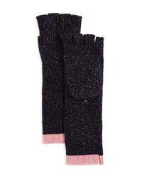 Rag & Bone - Blue Jubilee Pop-top Gloves - Lyst