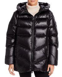 Woolrich Black Packable Birch Down Coat