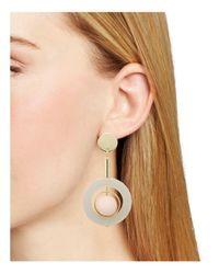 Aqua - Pink Matte Ball Earrings - Lyst
