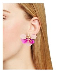 Kate Spade - Pink Statement Stud Earrings - Lyst