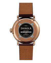 Shinola - Metallic 47mm - Lyst