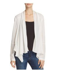 Chelsea and Walker | White Abby Silk Jacket | Lyst