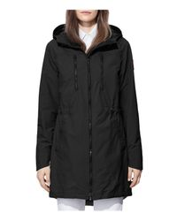 Canada Goose - Black Brossard Rain Coat - Lyst