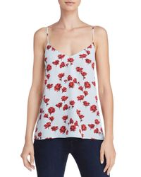 Equipment - Multicolor Layla Printed Silk Camisole Top - Lyst