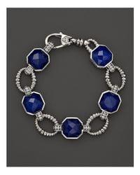 Lagos | Blue Lapis Doublet Bracelet | Lyst