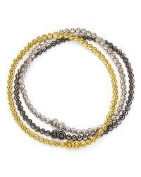 Officina Bernardi Metallic Moon Bracelets