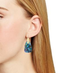 Kendra Scott Blue Marty Drop Earrings